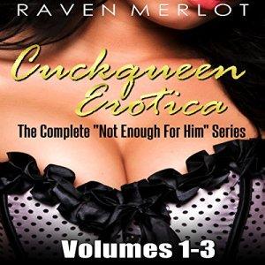Cuckqueen Erotica Audiobook By Raven Merlot cover art