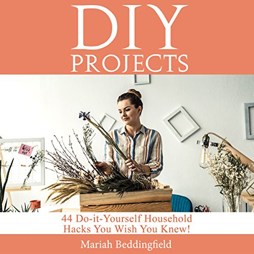 DIY Projects Audiobook By Mariah Beddingfield cover art
