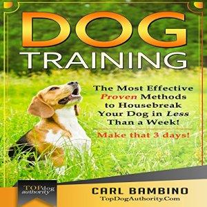 Dog Training Audiobook By Carl Bambino cover art