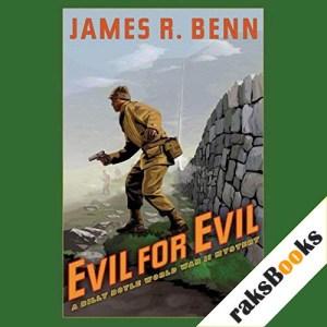 Evil for Evil Audiobook By James R. Benn cover art
