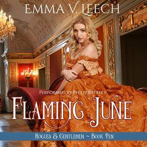 Flaming June Audiobook By Emma V Leech cover art