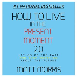 How to Live in the Present Moment, Version 2.0 - Let Go of the Past & Stop Worrying About the Future Audiobook By Matt Morris cover art