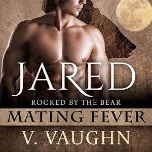 Jared: Mating Fever Audiobook By V. Vaughn cover art
