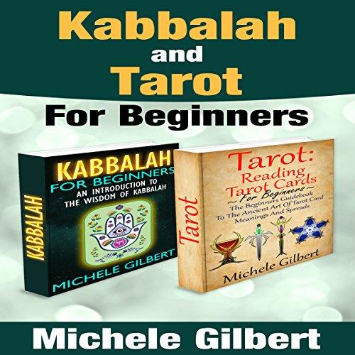 Kabbalah and Tarot for Beginners Box Set Audiobook By Michele Gilbert cover art