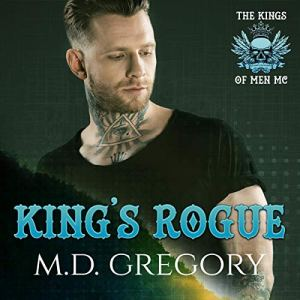 King's Rogue Audiobook By M.D. Gregory cover art