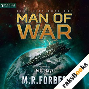 Man of War Audiobook By M. R. Forbes cover art