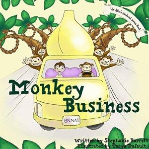 Monkey Business Audiobook By Stephanie Barrett cover art