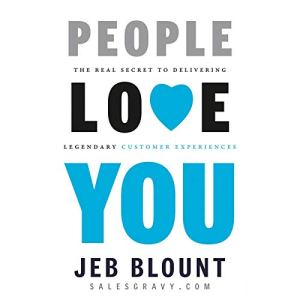 People Love You Audiobook By Jeb Blount cover art
