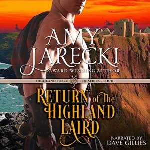 Return of the Highland Laird Audiobook By Amy Jarecki cover art