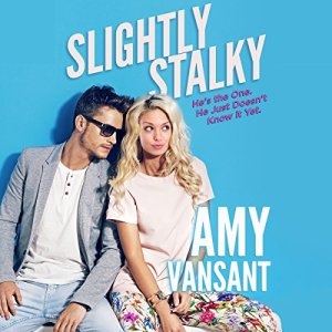 Slightly Stalky: A Romantic Comedy Walks into a Bar... Audiobook By Amy Vansant cover art