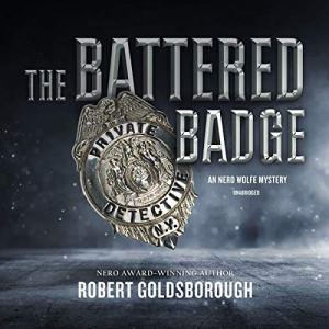 The Battered Badge Audiobook By Robert Goldsborough cover art