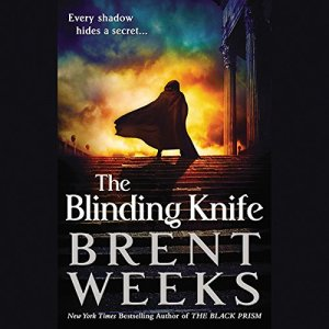 The Blinding Knife Audiobook By Brent Weeks cover art