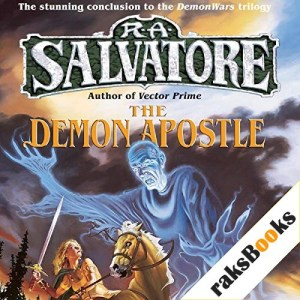 The Demon Apostle Audiobook By R. A. Salvatore cover art