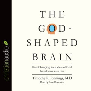 The God-Shaped Brain Audiobook By Timothy R. Jennings cover art