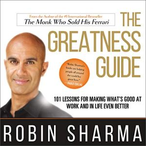 The Greatness Guide Audiobook By Robin Sharma cover art
