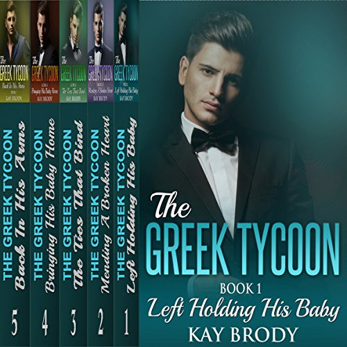 The Greek Tycoon, Books 1-5 Bundle Audiobook By Kay Brody cover art