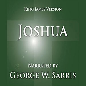The Holy Bible - KJV: Joshua Audiobook By George W. Sarris (publisher) cover art