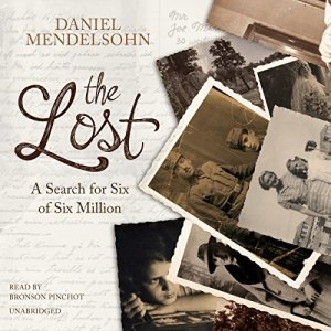 The Lost Audiobook By Daniel Mendelsohn cover art