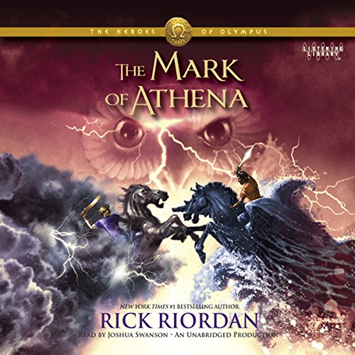 The Mark of Athena Audiobook By Rick Riordan cover art