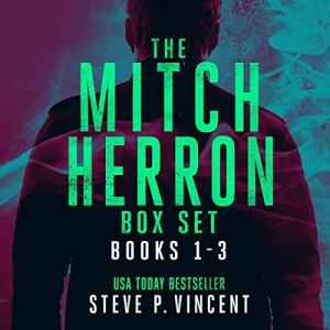 The Mitch Herron Series: Books 1-3 Audiobook By Steve P. Vincent cover art