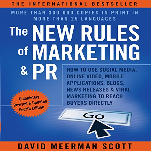 The New Rules of Marketing and PR Audiobook By David Meerman Scott cover art