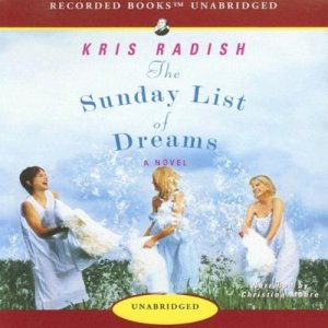 The Sunday List of Dreams Audiobook By Kris Radish cover art