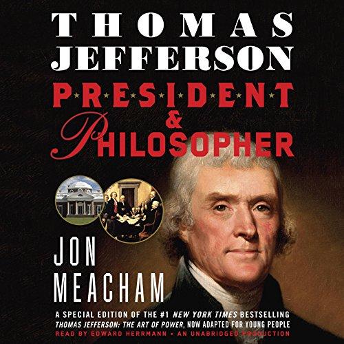 Thomas Jefferson: President and Philosopher Audiobook By Jon Meacham cover art