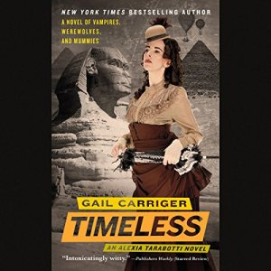 Timeless Audiobook By Gail Carriger cover art