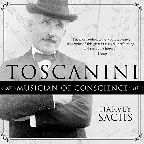 Toscanini Audiobook By Harvey Sachs cover art
