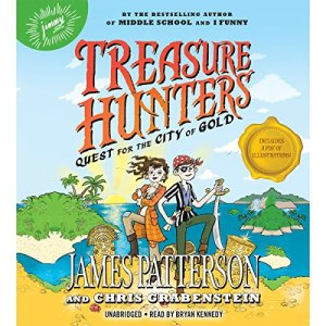 Treasure Hunters: Quest for the City of Gold Audiobook By James Patterson, Chris Grabenstein, Juliana Neufeld - illustrator cover art