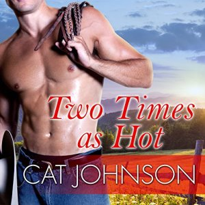 Two Times as Hot Audiobook By Cat Johnson cover art