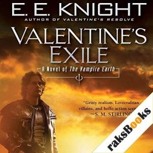 Valentine's Exile Audiobook By E. E. Knight cover art
