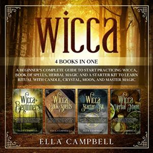 Wicca: 4 Books in One Audiobook By Ella Campbell cover art