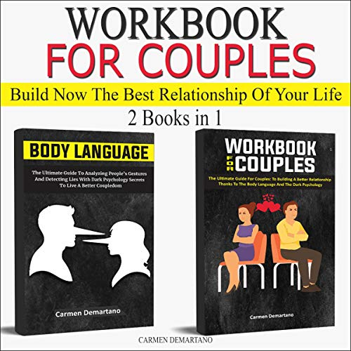 Workbook for Couples and Body Language Audiobook By Carmen Demartano cover art