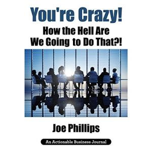 You're Crazy! How the Hell Are We Going to Do That?!: What Leaders Need to Do to Be Successful and Get Their People Fully Engaged and Fully Committed Audiobook By Joe Phillips cover art