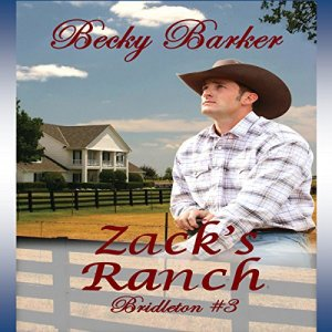 Zack's Ranch Audiobook By Becky Barker cover art