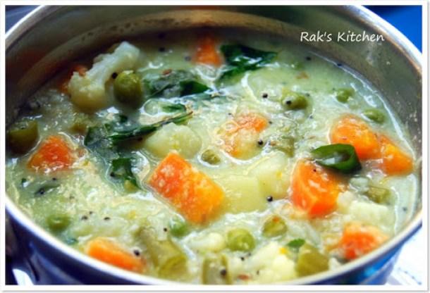 Mixed veg kootu