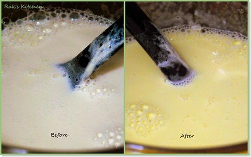 custard with custard powder