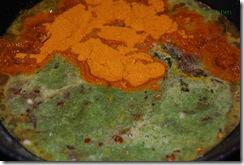 Add sambhar powder