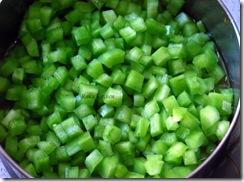 added chopped veggie