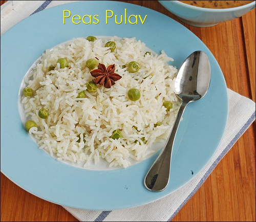 Peas-Pulav-recipe