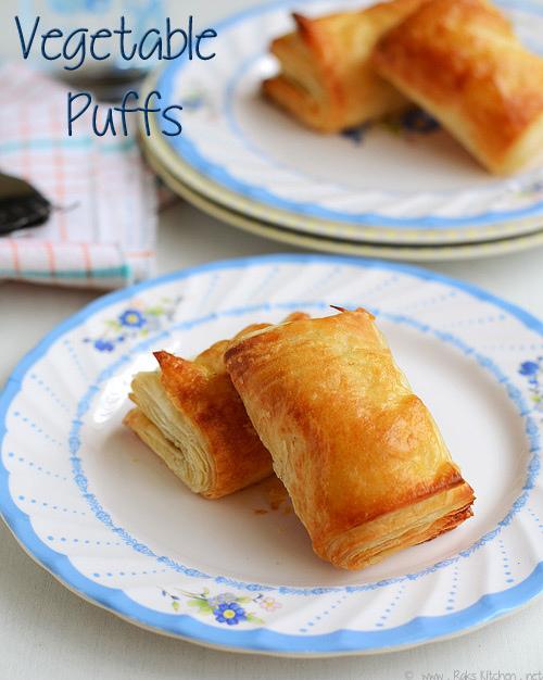vegetable puff recipe