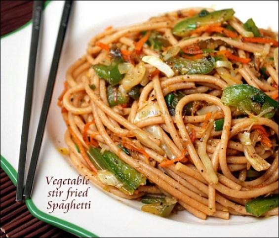 Stir friedSpaghetti
