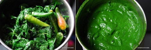 step 3 palak paneer recipe