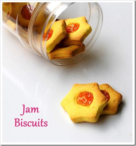 Custard powder cookies