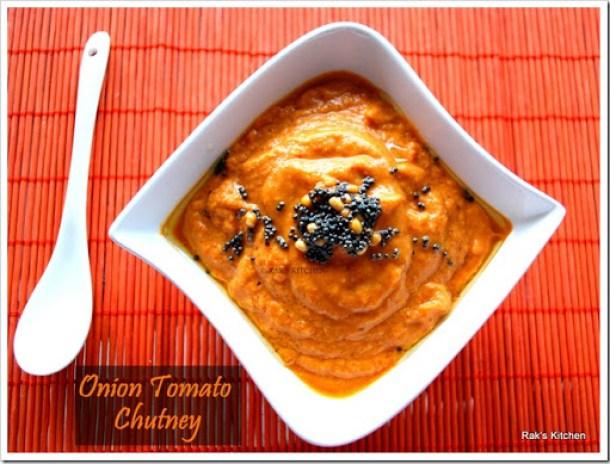 Onion tomato Chuntey