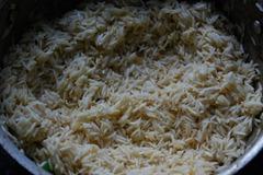step 6 Rice fry