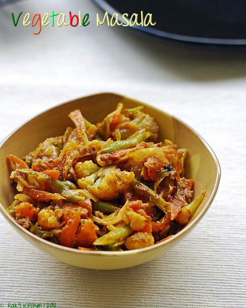 vegetable-masala