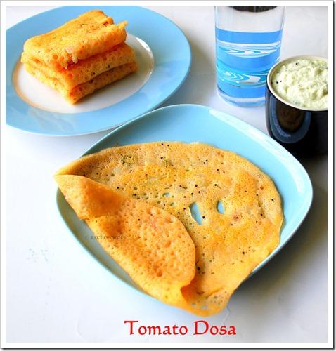 Tomato dosa