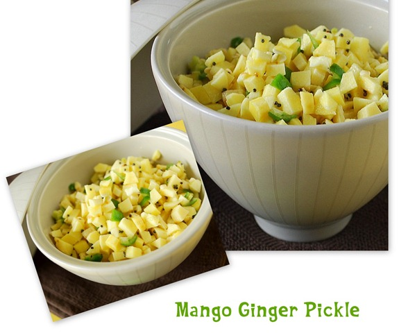 A-MANGO GINGER PICKLE